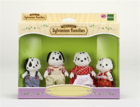Dalmantion Family dalmatian family sylvanian families