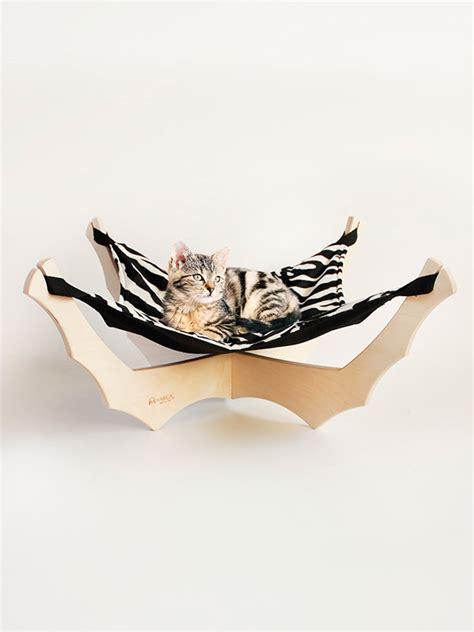 amaca gatto pisolino amaca smontabile per gatti in legno naturale ed