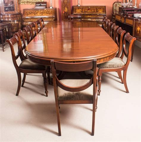 antique victorian mahogany twin base extending dining