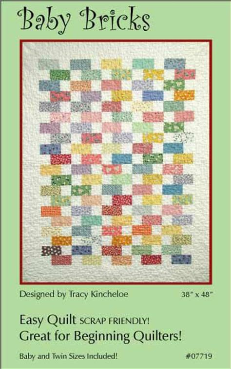 Baby Bricks Quilt Pattern by The World S Catalog Of Ideas