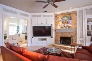 family room design with tv impressive corner tv cabinet for flat screens decorating