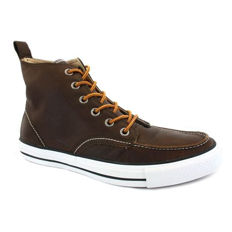 converse all classic boot half cab leather boots