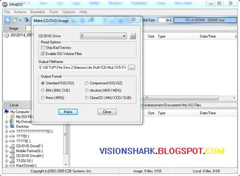 software pembuat file iso ultra iso pembuat pembaca file format iso