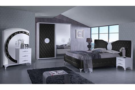 schwarz weiß schlafzimmer design schlafzimmer ankara in schwarz wei 223 5 teilig