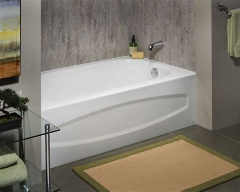 right hand bathtub american standard cadet 5 feet enamel steel bathtub with