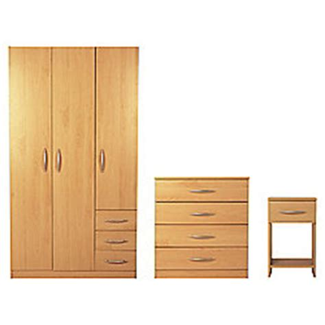 tesco bedroom furniture sets buy ashton triple wardrobe furniture set beech from our