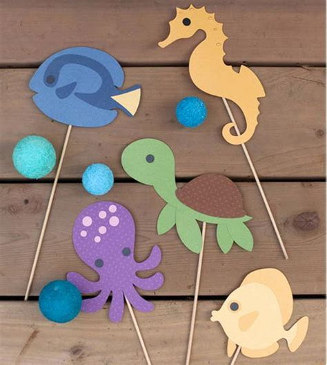 All Free Paper Crafts - the sea printables allfreepapercrafts