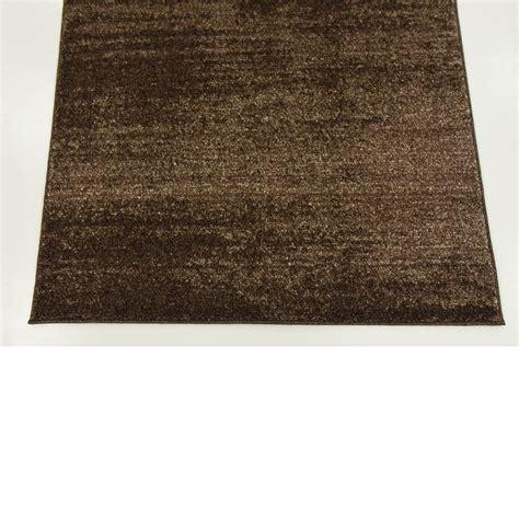 thin rug modern plain rugs soft thin pile area carpet brown 3 x 5 mar rug ebay