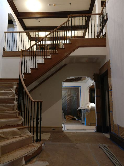 north sea long island dkp wood railings stairs
