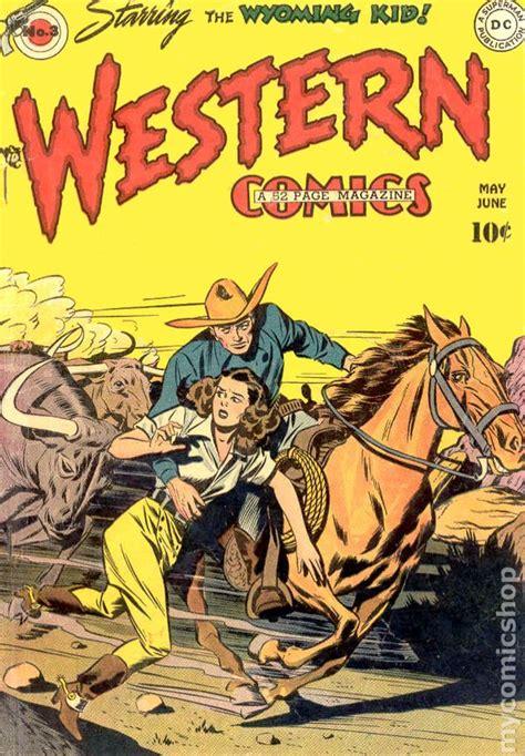 Westerns Graphic Novels Comics Books Western Comics 1948 Comic Books