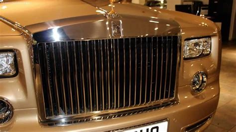 rose gold rolls royce 163 1 3 million gold 2013 rolls royce phantom custom order