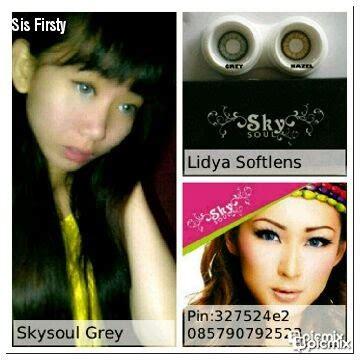 Softlens N8 Black 16mm softlens skysoul