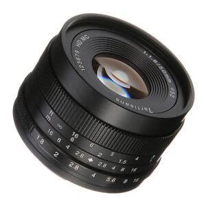50mm F 1 8 Manual Focus Fixed Lens For Fujifilm Fuji X