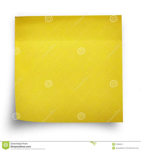 printable sticker paper office max yellow sticker paper note stock image image of paper