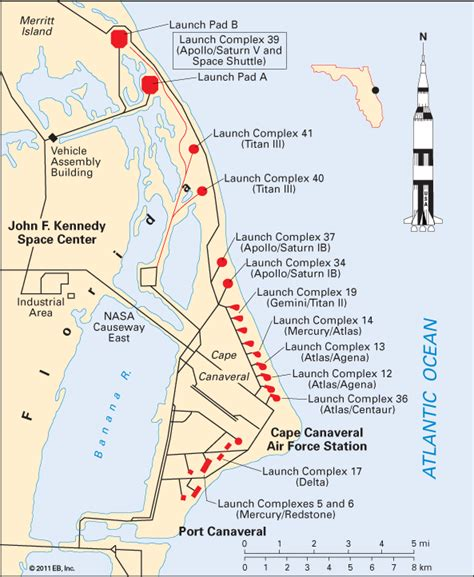 launch maps canaveral cape spaceport encyclopedia children s homework help