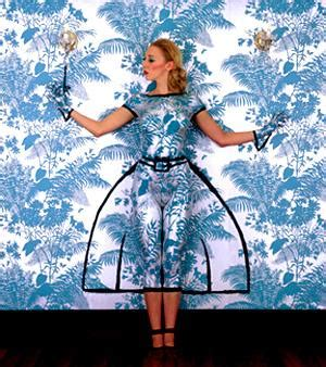 Motif Florence Blue wallpaper with attitude florence broadhurst the