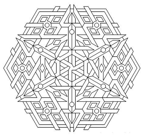 coloring pages adults geometric geometric mandala coloring pages coloring home