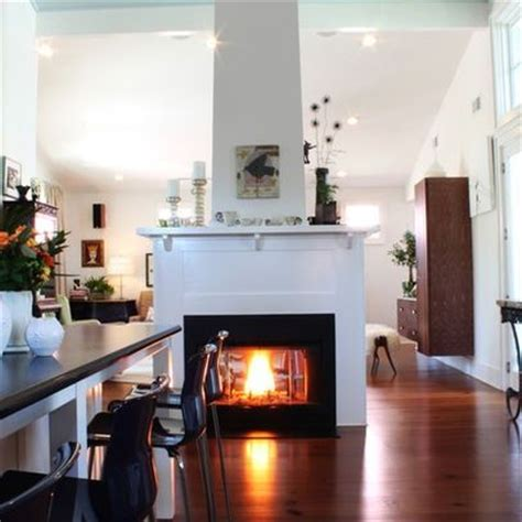 Last Standing Living Room by See Through Fireplaces And Families On