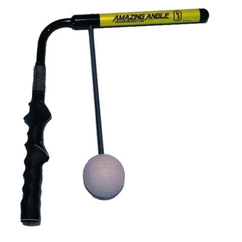 swing training aids golf amazing angle golf swing trainer at intheholegolf com
