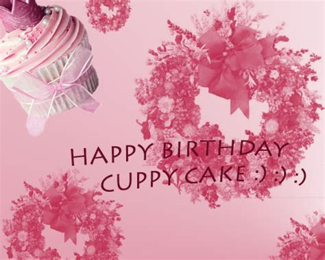 Birthday Cupcakes Free Cakes Balloons Ecards Greeting