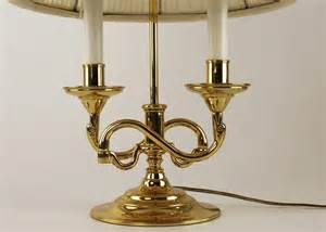 Baldwin solid brass serpentine candlestick style table lamp 1 of 294