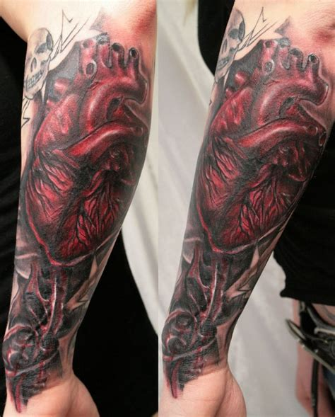 what does heart tattooed on my sleeve mean 30 cool heart tattoos desiznworld