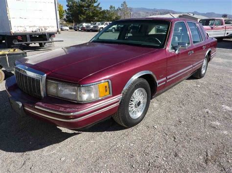 how to learn everything about cars 1991 lincoln continental mark vii security system 1991 lincoln town car for sale classiccars com cc 1043308