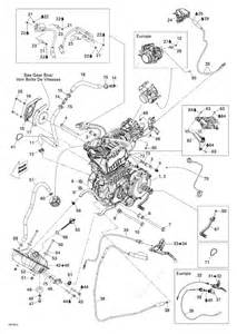 bombardier 2009 ds 450 efi engine parts catalog
