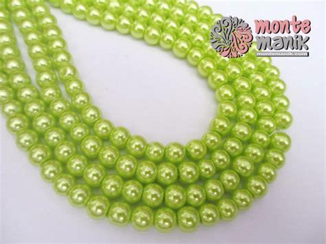 Mutiara Sintetis 6mm mutiara sintetis 6 mm hijau muda mto 025 montemanik
