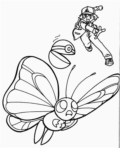 pokemon coloring pages butterfree c 57 pokemon coloring pages coloring book