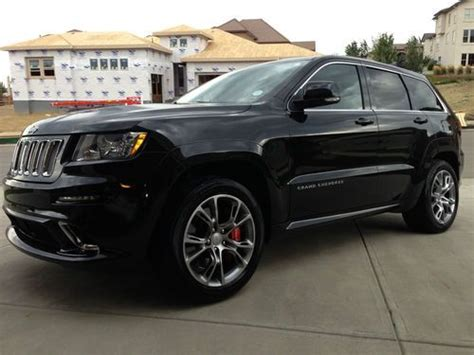 Jeep Srt8 For Sale In Colorado Find Used 2012 Jeep Grand Srt8 Brilliant Black