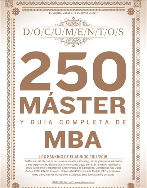 Eae Mba Tuition Fee by Six Eae Masters Ranked Among The Best In Spain According