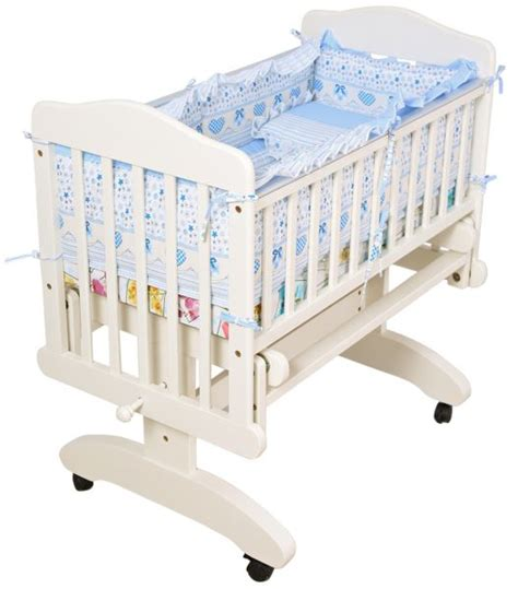 Baby Crib Cushion by Mon Ami Baby Swing Crib Cradle And Soft Cushion With