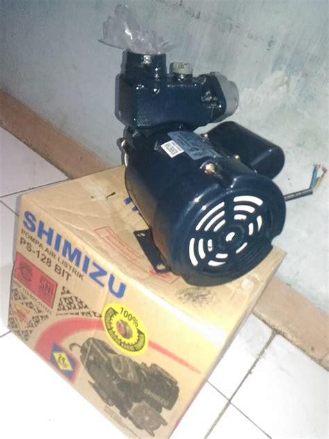 Pompa Air Shimizu 128 Bit jual pompa air listrik shimizu ps 128 bit erik roda jaya