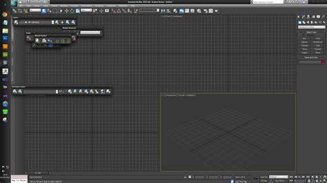 Folder Desk 3ds Max Ui Loadup Problems Polycount