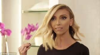 why did guilliana rancic color her hair giuliana rancic debuts diy red locks before working the