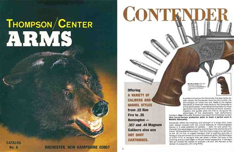 thompson and catalog thompson center arms 1981 gun catalog for sale at