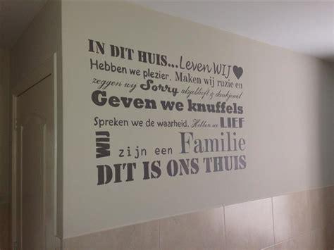 muurtekeningen woonkamer muurschilderingen teksten op de muur