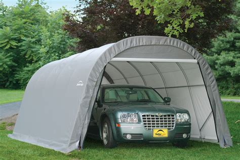 Temporary Car Port by Portable Car Garage Shelters The Best Portable Carport