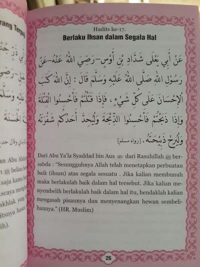 Kitab Kuning Saku Hadits Arbain buku saku al qur an juz 28 29 30 dan arbain an nawawi