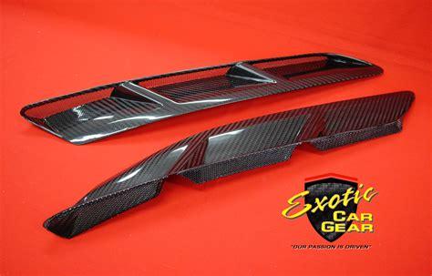 corvette   carbon fiber front fender vents exotic car gear