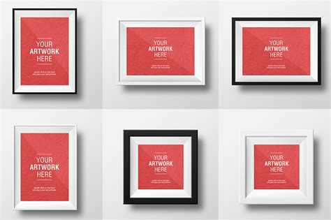 design photo mockups 6 free frame mock ups dealjumbo com discounted design