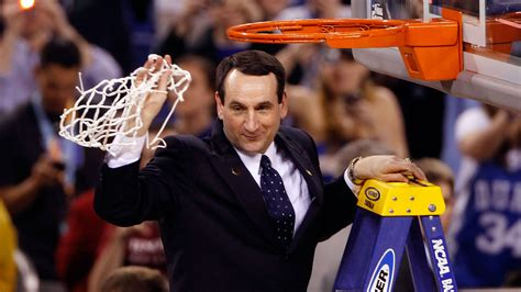 couch k as he approaches 1k krzyzewski established as college