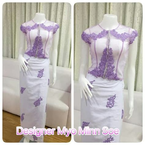 Dress Dress Korea Brukat Dress Brukat 11 myanmar dress myanmar lace dresses brokat