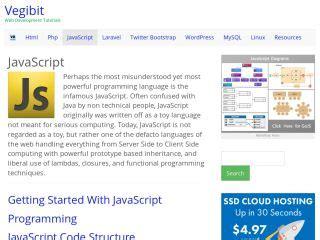 javascript tutorial list javascript tutorials for beginners web development tutorials