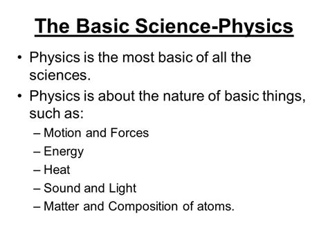 the simple physics of energy use books intro to physics science is the study of nature s