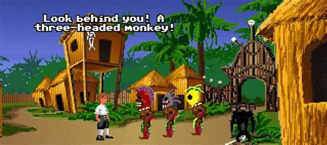 tre teste le scimmie a tre teste di monkey island il di mitico303