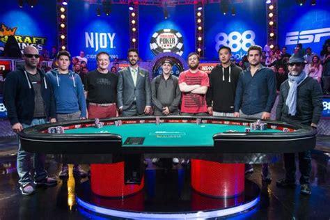 wsop table the nine november nine here we come wsop 2015 event