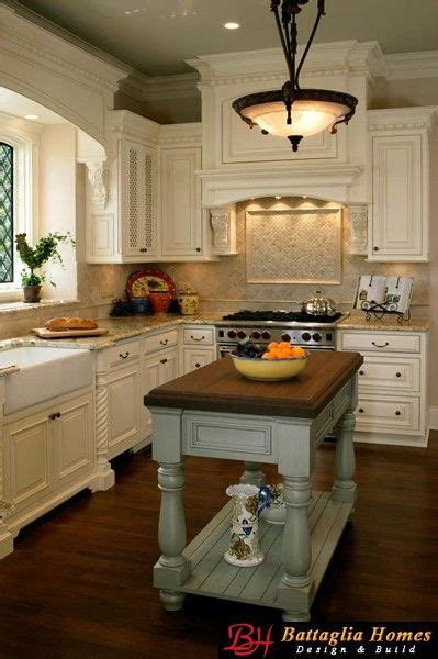 cottage kitchen islands cottages cabinets and the on