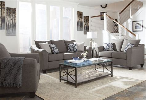 gray living room sets salizar gray living room set 506021 coaster furniture